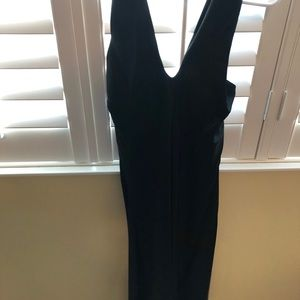 Banana republic black halter dress.